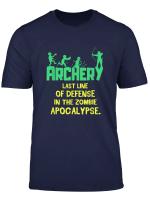 Funny Last Line Archery Gift Shirt Mens Womens Bow Archer T Shirt