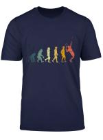 Retro Evolution Tennis T Shirt Tennisspieler Geschenk