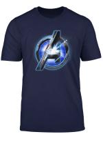 Marvel Avengers Endgame Tech Logo Graphic T Shirt