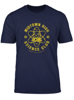 Marvel Spider Man Midtown High Science Club T Shirt