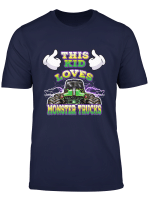 Kids Monster Truck Toddlers And Kids T Shirt