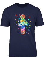 80Th Love I Love The 80S Tape Micro Party Kostum T Shirt