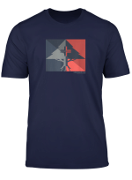 Mens Lrg Contrast Split Tree T Shirt