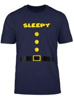 Sleepy Dwarf Halloween Costume Sleepy Dwarf T Shirt Sleepy