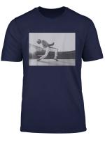 Freddie Mercury Official Howl Stage Icon B W Photo T Shirt