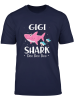 Womens Gigi Shark Doo Doo Doo Tshirt For Grandma Mother S Day Gifts