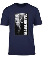 Inscription Bad Beautiful Blondie T Shirt Dark Heather