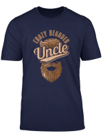 Men S Funny Crazy Uncle Design Crazy Bearded Uncle Gift T Shirt