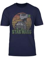 Star Wars The Rise Of Skywalker D O Retro Line Portrait T Shirt