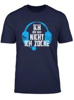 Gaming Zocker Geschenk Spieler Spruch T Shirt