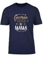 Womens German Shepherd Mama Shirt Arrows Dog Lover Gifts For Mom