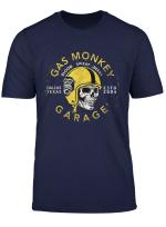 Gas Monkey Garage Painted Skull Helmet Poster T Shirt