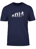 Herren Lustiges Tischtennis Geschenk Evolution Tischtennisspieler T Shirt