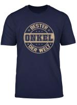 Bester Onkel Der Welt T Shirt Vatertagsgeschenk
