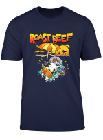 Roast Beef Cow On Beach Vacation Sun Tan Kids Men Women T Shirt