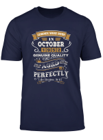 Legends Were Born In October 1952 67Th Birthday Gifts T Shirt