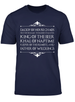 Funny Father Of Wildling Dad Fathers Day Gift Shirt For Men