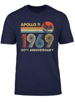 Apollo 11 50Th Anniversary Moon Landing 1969 2019 Vintage T Shirt