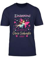Kinder Feen Geschenk Madchen Fee Ich Werde Grosse Schwester 2020 T Shirt