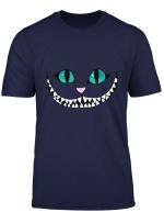 Halloween Cat T Shirt Grinsekatze T Shirt Spuk Shirt