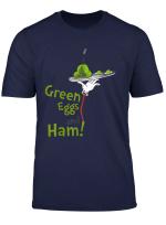 Dr Seuss Green Eggs And Ham Title T Shirt