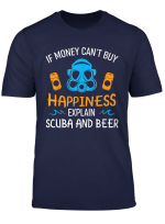 Humorous Gift For Divers Funny Scuba Diving Beer T Shirt