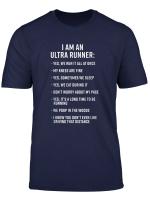 Ultra Running Trail Running I Am An Ultra Runner T Shirt