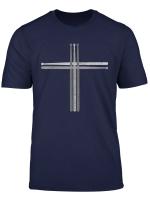 Christian Drummer T Shirt Drum Sticks Cross Shirt Gift