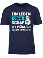 Schaf Schafe Schafer Hirte Bauer Bauernhof Spruch Geschenk T Shirt