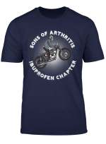 Sons Of Ibuprofen Arthritis Chapter Motorrad Motorradfahrer T Shirt