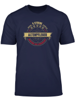 Lustiges Altenpfleger Geschenk 5 Sterne Berufe T Shirt