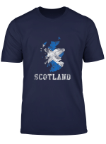 Schottische Flagge Tees Schottland Vintage Sports Design T Shirt