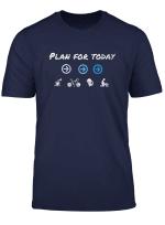 Mein Plan Fur Heute T Shirt Geschenk Fur Radfahrer