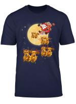 Christmas Reindeer Dachshund Dog Shirts Funny Christmas Gift