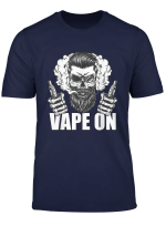 Vaper Shirt Vape On Dampfer Outfit E Zigarette Cloud T Shirt