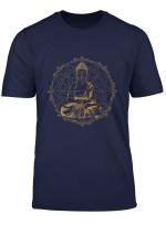 Yoga Ornamente Mandala Ganesha Chakra Tribal Buddha Damen T Shirt