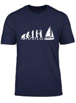 Geschenkidee Fur Segler Evolution Segeln T Shirt