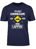 Geschenk Fahranfanger Shirt Stellt Die Gummibaume Auf