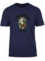 A Camo Bathing Retro Colored T Shirt