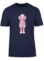Kaws Bff Dissected Companion Shirt Pink Art Toys Tees