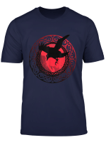 Wikinger Odin Rabe Huginn And Muninn T Shirt Fur Manner