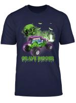 Grave Green Digger T Shirt Monster Truck Gift Tee For Men