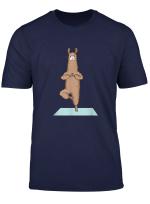Lamas Alpaka Yoga Shirt Yoga Sport Fans Tee Geschenk