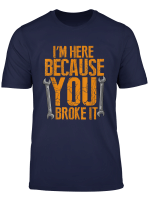 Funny Maintenance Worker T Shirt