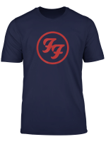 Foo Fighters Red Circle Logo T Shirt