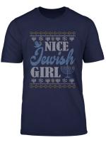 Hanukkah Nice Jewish Girl Cool Chanukah Festival Jewish Gift T Shirt