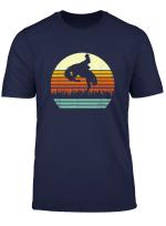 Bucking Bronco Horse Retro Style T Shirt