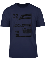 Automotive Apparel Jdm Legend Tuning Japanese Car 33 Movie T Shirt