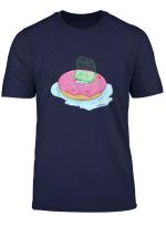 Susser Auf Dem Donut Chillender Teebeutel Tee T Shirt