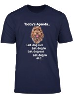 Brown Cockapoo Sproodle Labradoodle Funny T Shirt Gift